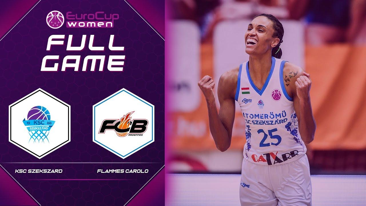KSC Szekszard v Carolo Basket - 3rd Place Full Game - EuroCup Women 2020
