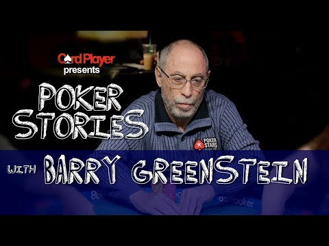PODCAST: Poker Stories With Barry Greenstein