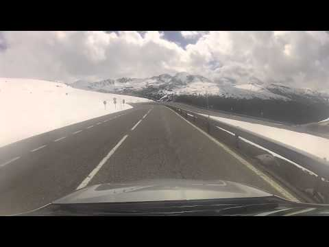 Time Lapse Video - Driving into Andorra (Pas de la Casa - So