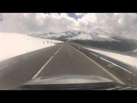 Time Lapse Video - Driving into Andorra (Pas de la Casa - Soldeu) - May 2013.