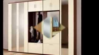 видео где мебель для прихожей