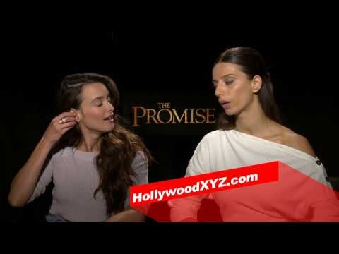 The Promise Interview - Angela SaraFyan Share Amazing Personal Story About Armenian Genocide