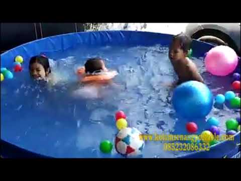 Culoboyo | Baby Shark Dance Parody Kolam Renang Portable  #babysharkchallenge