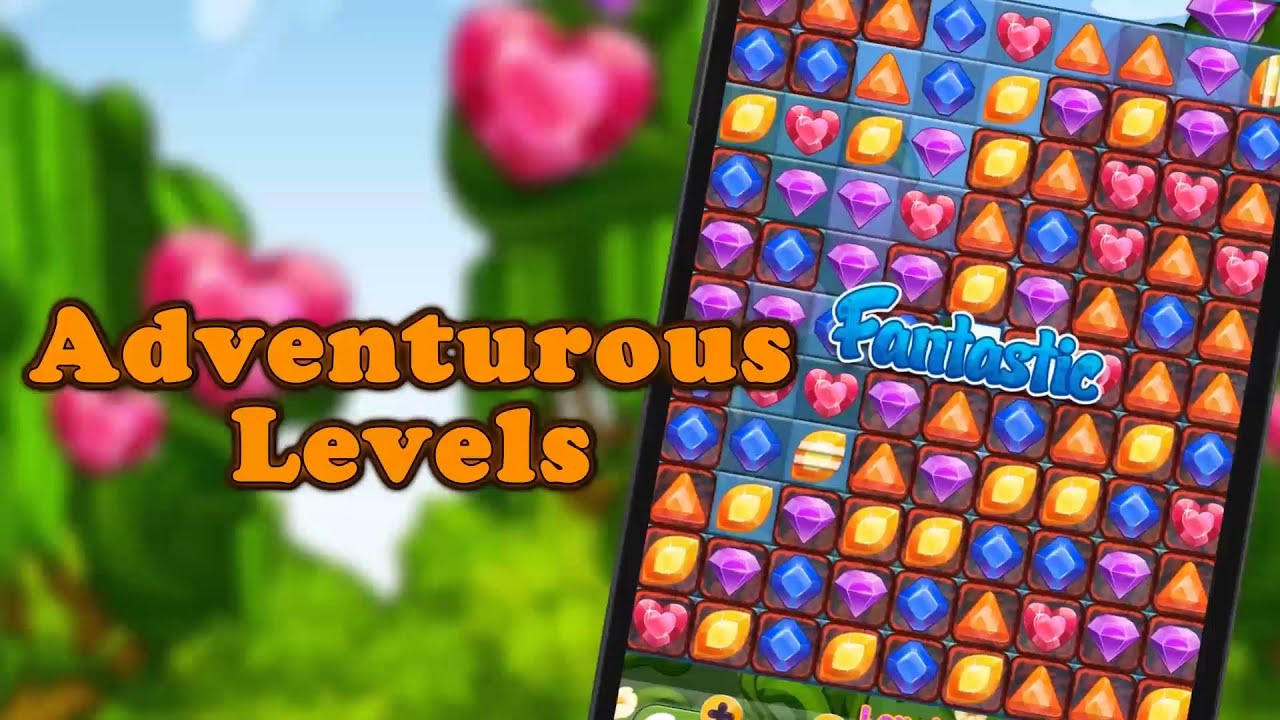 Jewels Garden Mobile Game YouTube