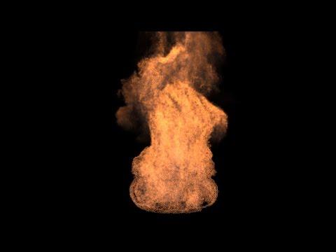Maya FX_Fastest Way To Create Realistic Fire in Maya 2017