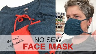 DIY Face Mask | NO SEW | Upcycled Tshirt | 5 Minutes