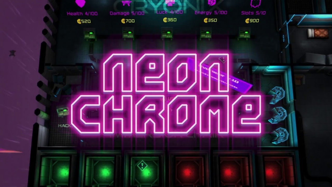 Neon Chrome Release Trailer