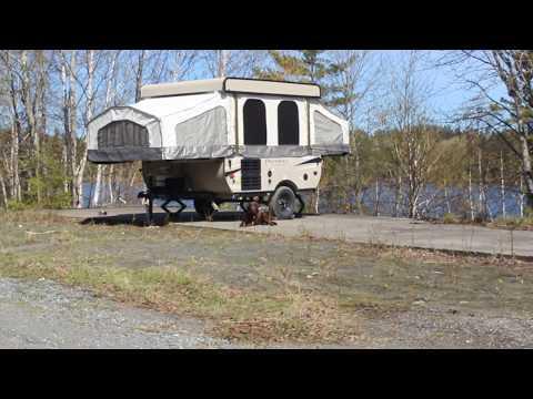 Camping and Metal Detecting Silver Cobalt Ontario