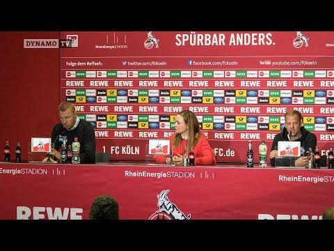 13. Spieltag   KOE - SGD   Pressekonferenz nach dem Spiel