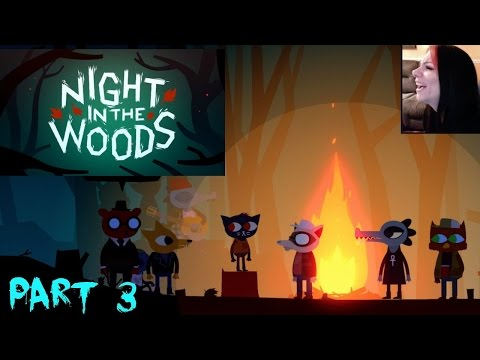NIGHT IN THE WOODS - DRUNK AND DISORDERLY | DEMON TOWER - PART 3 - PS4 Gameplay