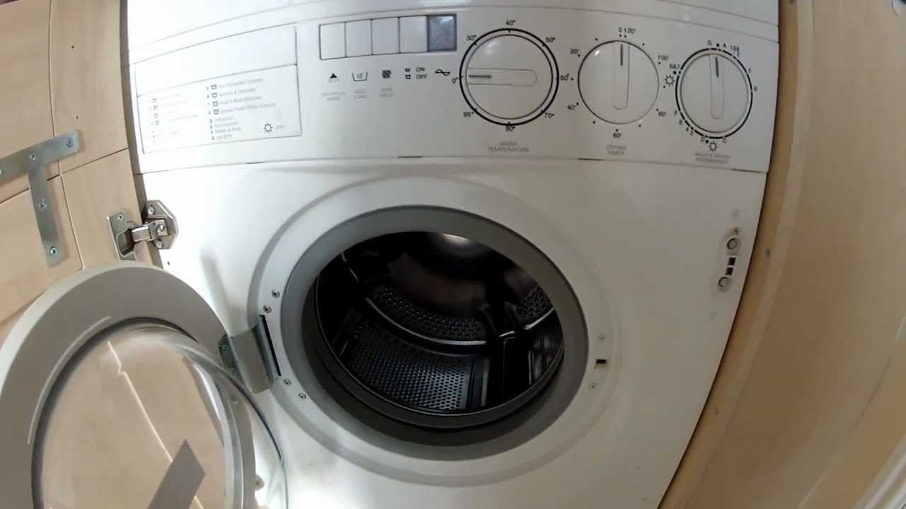 Diplomat Intergrated Washer Dryer Overview Youtube