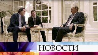 Американские зрители впреддверии премьеры увидели фрагменты фильма «Интервью Путина» Оливера Стоуна