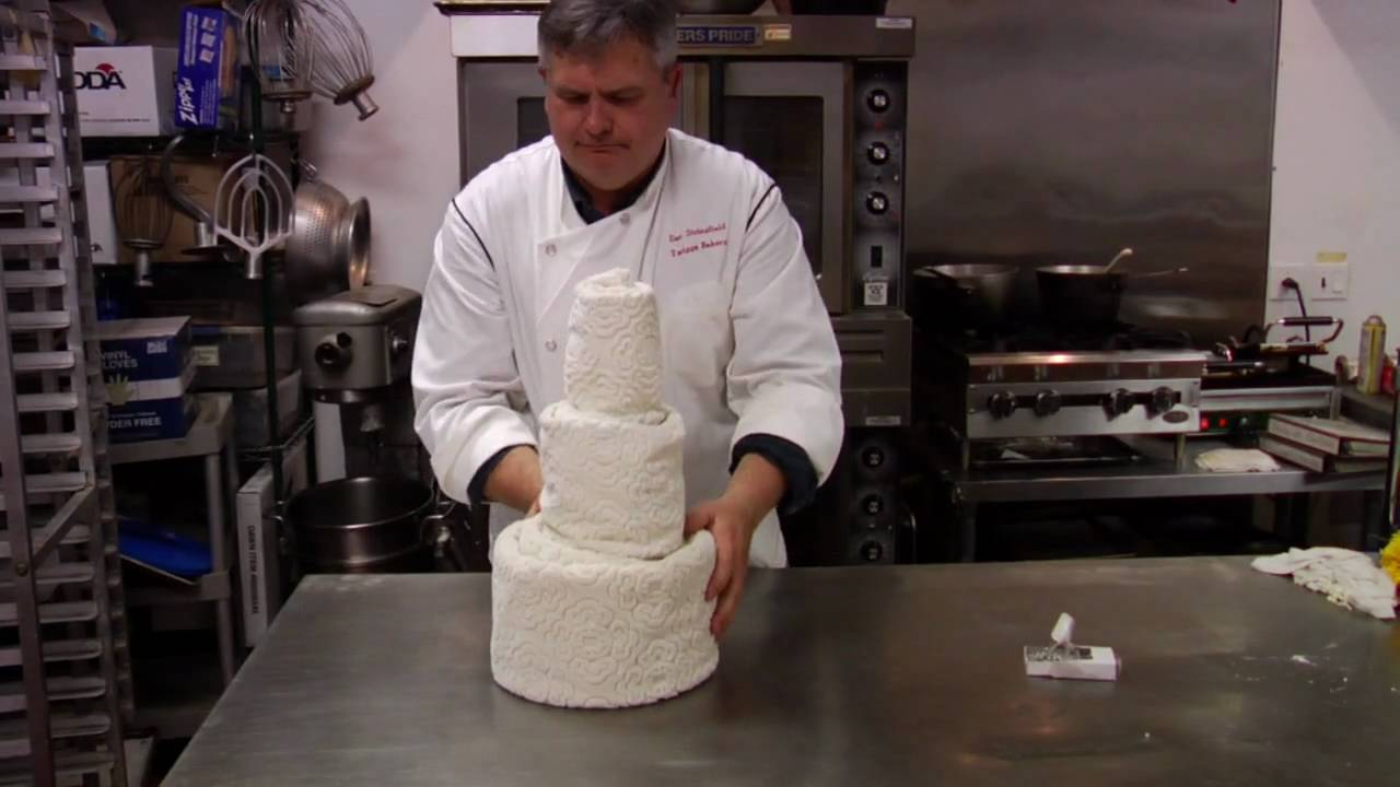 wedding cakes how to make towel cake youtube