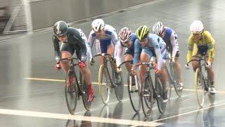 5月13日に宮城自転車競技場で行われた全日本自転車選手権トラックレース...