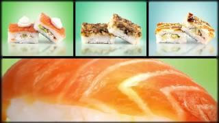 Реклама суши бара