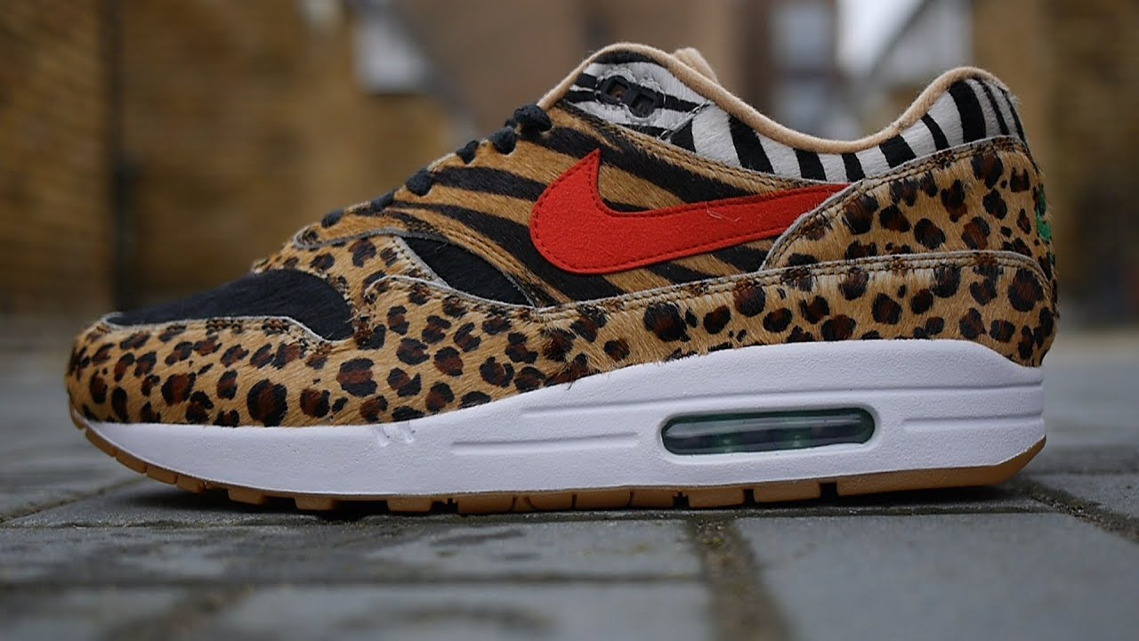 f6164256f56 Nike x Atmos Air Max 1 Animal Pack 2.0 Quick Look (2018) - YouTube