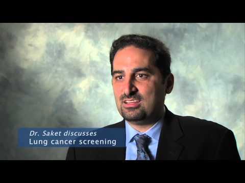 Lung Cancer Screening - Daniel Saket, MD