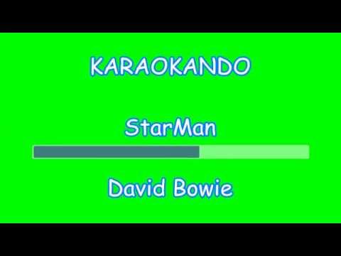 Karaoke Internazionale - Starman - David Bowie ( Lyrics )