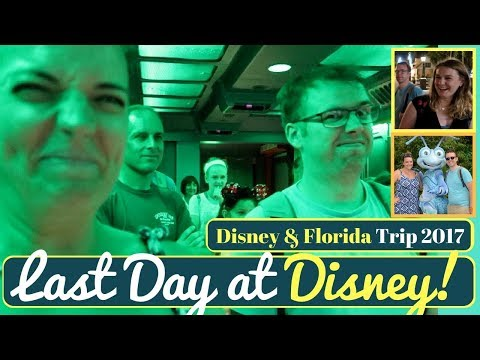 Walt Disney World & Orlando Vacation Vlog #25 | Last full day/night at Animal Kingdom & Epcot 2017