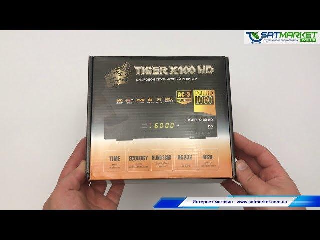 Видео обзор Tiger X100 HD