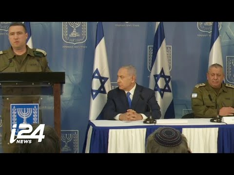 FULL: Statements on Israel's Operation Northern Shield Made By Netanyahu, Eizenkot and Manelis