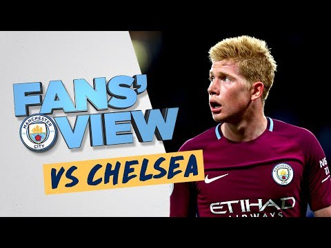 KDB WONDER STRIKE | Chelsea 0-1 Man City | Fans' View
