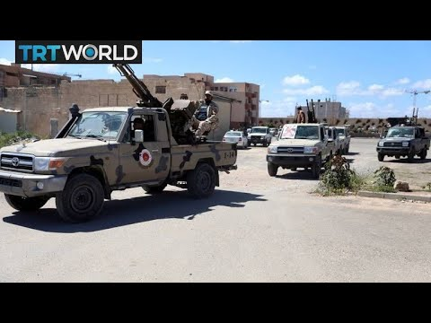 Libyan forces push back Haftar's troops south of Tripoli