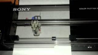 Sony SMC-777 Demo Plotter Printer Sony PRN-C41