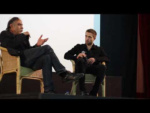 Robert Pattinson talks about working on his new movie Good Times -  Lisbon Film Festival 25.11.2017