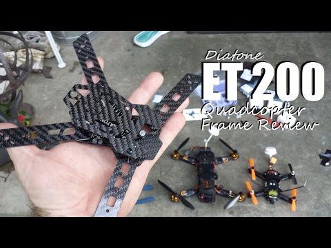 Diatone ET 200 Frame Review from banggood