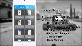 KartMAX PRO, Rotax Jetting App, Video Tutorial