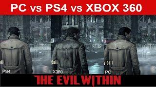 The Evil Within Face-Off - PC vs PS4 vs Xbox 360 Graphics Comparison