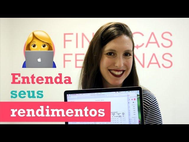 COMO LER O EXTRATO DO TESOURO DIRETO | Finanças Femininas