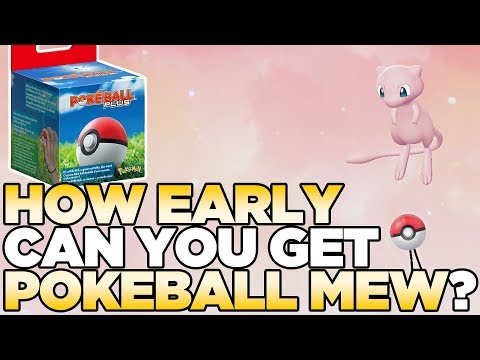 How EARLY Can You Get Mew from PokeBall Plus in Pokemon Let's Go Pikachu & Eevee?
