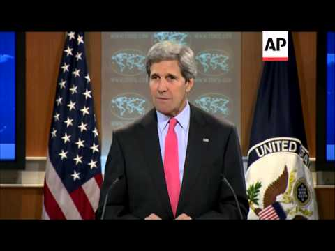 US Sec of State Kerry says violence in Egypt is 'deplorable'