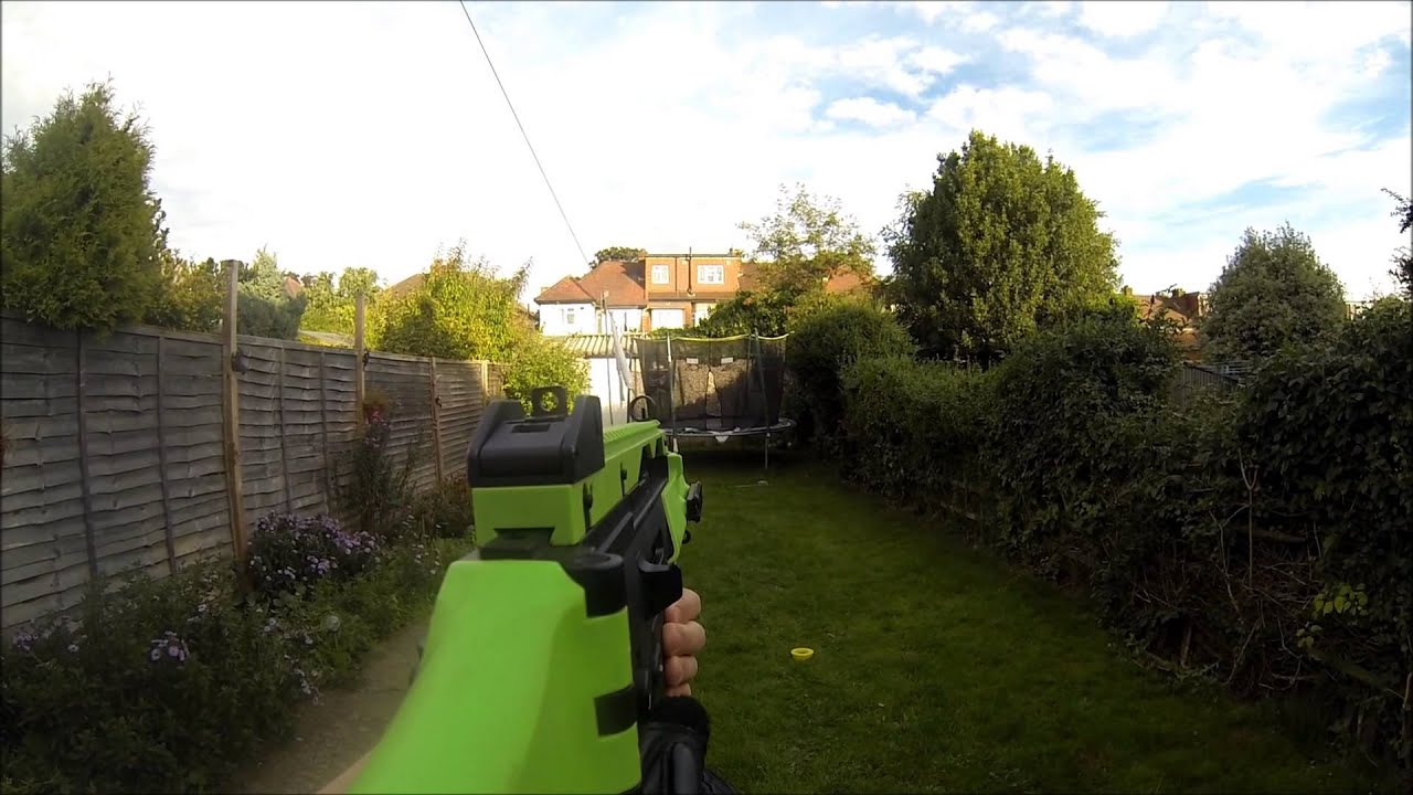 gopro airsoft mounting options youtube