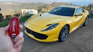 What It's Like To Drive A 2019 Ferrari 812 Superfast POV *Insane Exhaust*