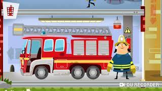 Fire Station Fireman Games | Youtube Kids | Educational Games for Children | Fire truck