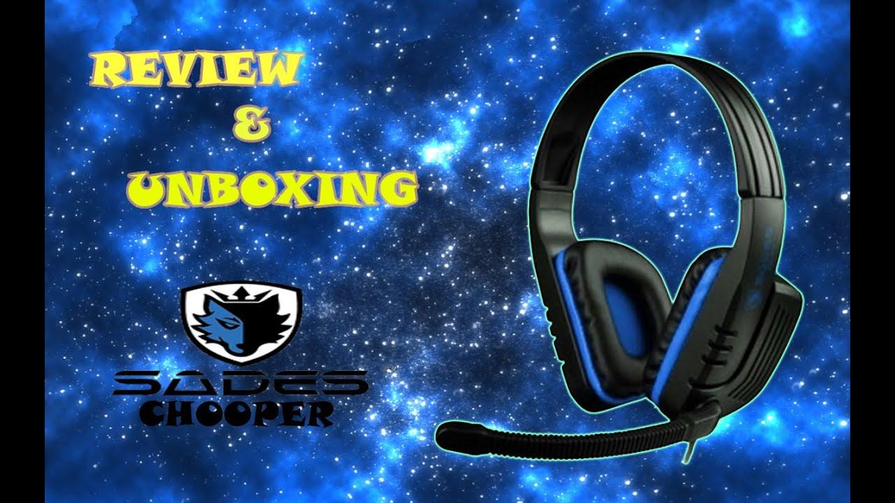 Review Amp Unboxing Sades Chooper Full Spesifikasi