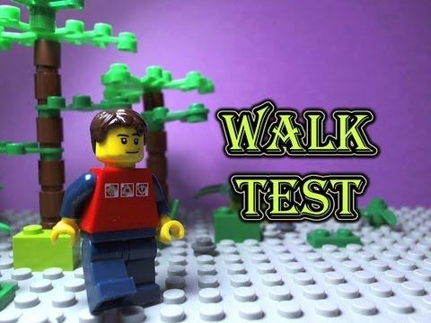 Smooth LEGO Walk Test (24,15,60,30 fps)- Entry to SenorTooth's ...