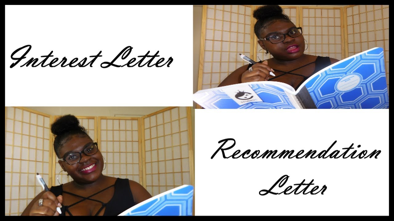 how to right a letter of recommendation