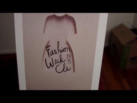 Vlog Fashion week Cleveland
