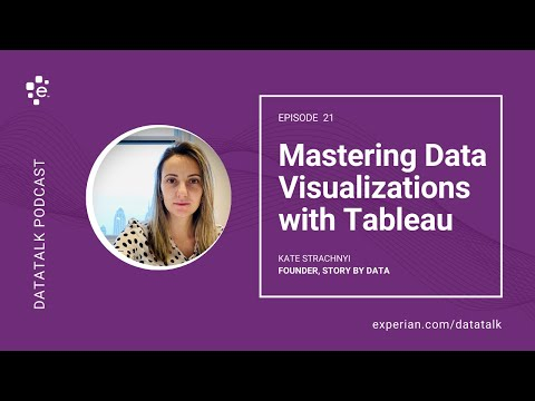 Mastering Data Visualizations with Tableau w/ @StoryByData #DataTalk