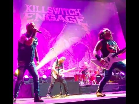 "Killswitch Engage, The Signal Fire - new Norman Jean - En Minor live - BabyMetal ""Elevator Girl"