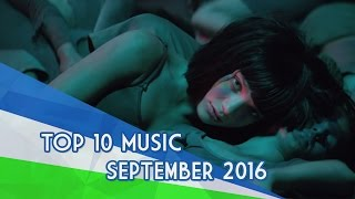 The Top 10 Music Videos «September/Septiembre» (12/09/2016)