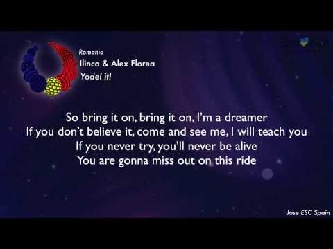 Ilinca feat Alex Florea - Yodel it! (Romania) [Karaoke Version]