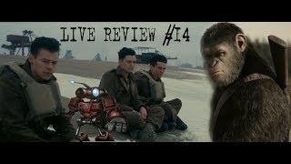 """LIVE REVIEW #14 """"Планета обезьян: Война"""" и """"Дюнкерк"""""""
