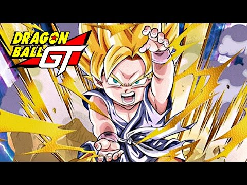 SSJ Kid Goku GT Maxed Super! Gameplay Part 20 - Dragon Ball Z: Dokkan Battle Gogeta Saga