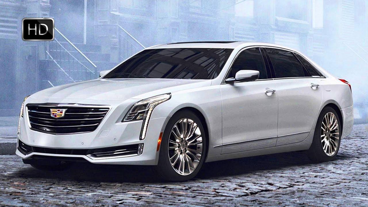 Cadillac Luxury Sedan Exterior Design Hd Youtube