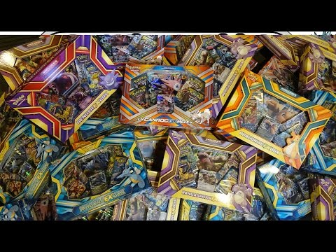 Opening 50 Pokemon EX & GX Boxes